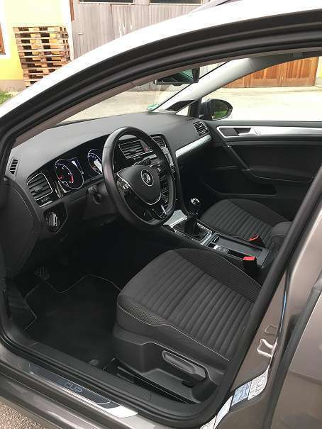 verkauft vw golf vii variant bmt 1 6 t gebraucht 2015 km in gro endorf. Black Bedroom Furniture Sets. Home Design Ideas