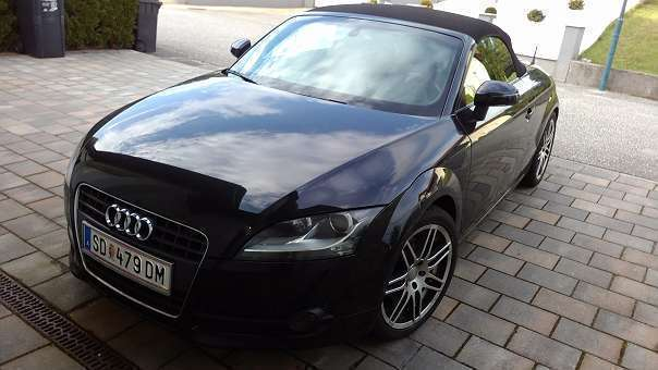 verkauft audi tt roadster 2 0tfsi spor gebraucht 2008 km in sch rding. Black Bedroom Furniture Sets. Home Design Ideas