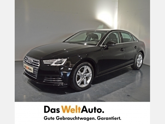 verkauft audi a4 limousine 2 0 tdi spo gebraucht 2016 km in langenstein. Black Bedroom Furniture Sets. Home Design Ideas