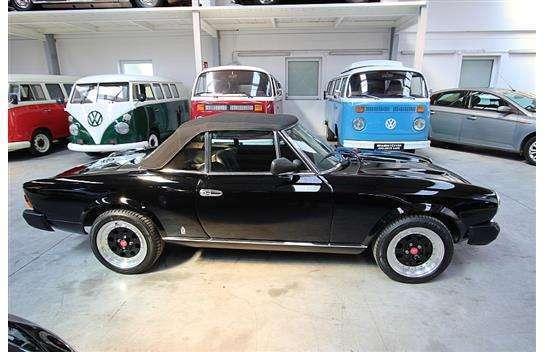 gebraucht cabrio roadster fiat 124 spider 1980 km 80. Black Bedroom Furniture Sets. Home Design Ideas