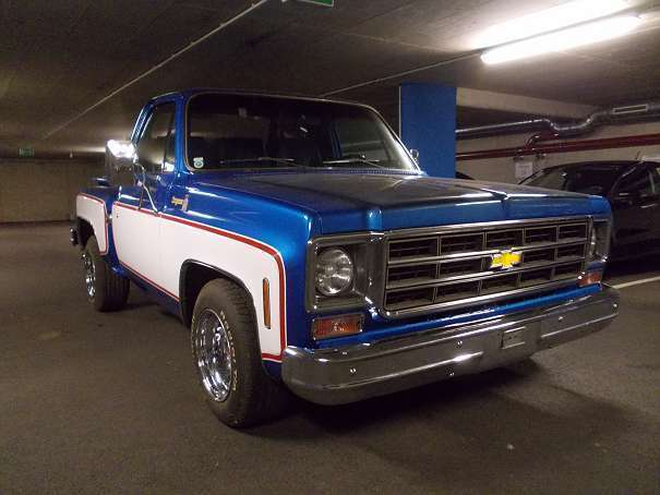 verkauft chevrolet c10 chevy pickup ch gebraucht 1978 3. Black Bedroom Furniture Sets. Home Design Ideas