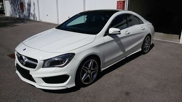 verkauft mercedes cla180 cla klasseamg gebraucht 2016 km in v cklabruck. Black Bedroom Furniture Sets. Home Design Ideas