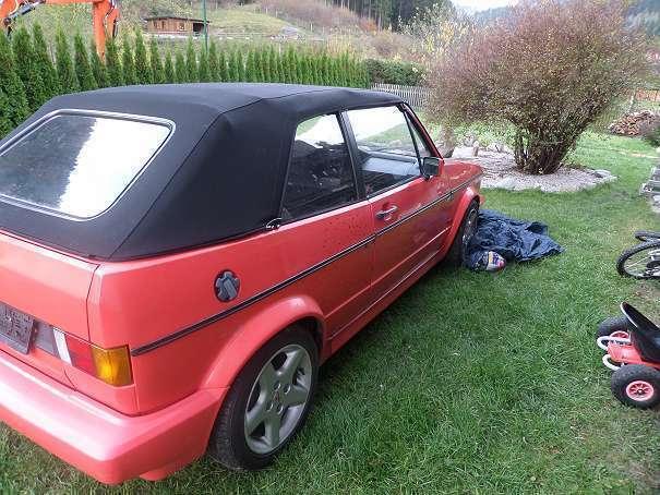 verkauft vw golf cabriolet 155 cabrio gebraucht 1991 km in kapellen. Black Bedroom Furniture Sets. Home Design Ideas