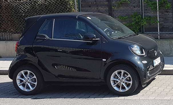 verkauft smart fortwo cabrio 453 cabri gebraucht 2016 7. Black Bedroom Furniture Sets. Home Design Ideas