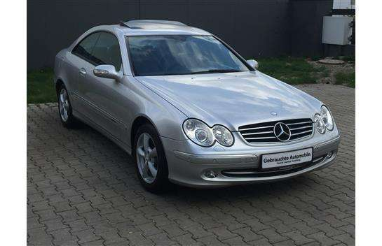 verkauft mercedes clk270 clk klasseava gebraucht 2002 km in oeynhausen. Black Bedroom Furniture Sets. Home Design Ideas