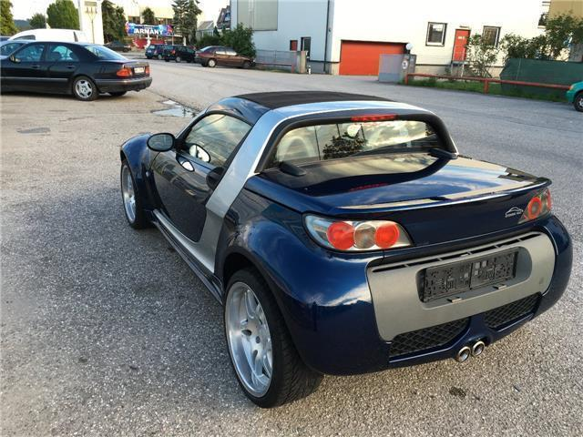 gebraucht brabus cabrio smart roadster 2003 km in marchtrenk. Black Bedroom Furniture Sets. Home Design Ideas