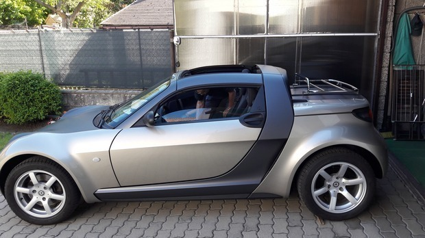 verkauft smart roadster gebraucht 2006 km in. Black Bedroom Furniture Sets. Home Design Ideas
