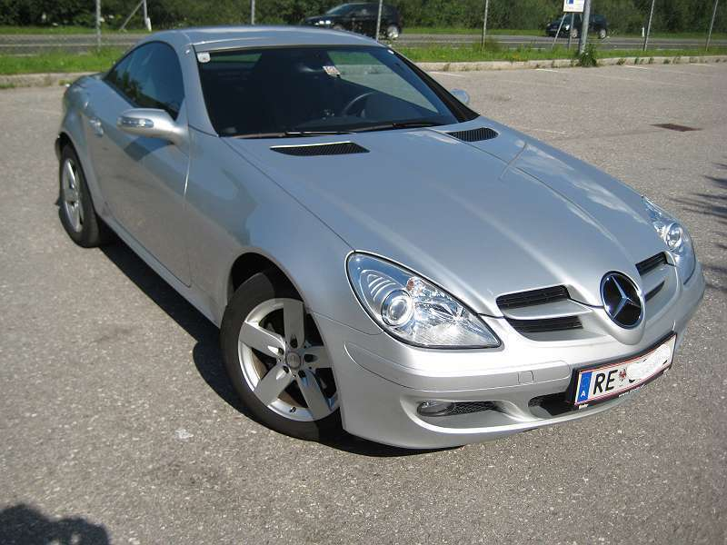 verkauft mercedes slk200 slk klasse me gebraucht 2008. Black Bedroom Furniture Sets. Home Design Ideas
