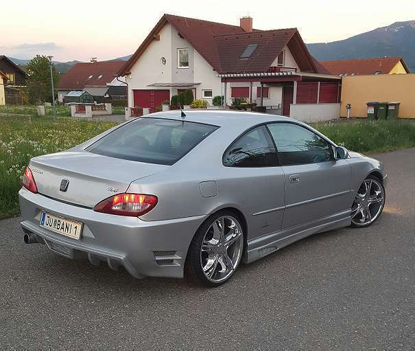 verkauft peugeot 406 coupe sportwagen gebraucht 1999 km in murtal. Black Bedroom Furniture Sets. Home Design Ideas