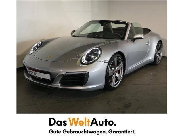verkauft porsche 911 carrera 4s cabrio gebraucht 2017 km in wien. Black Bedroom Furniture Sets. Home Design Ideas