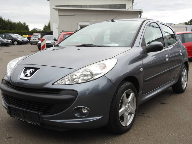 verkauft peugeot 206 trendy gebraucht 2009 km in zeltweg. Black Bedroom Furniture Sets. Home Design Ideas