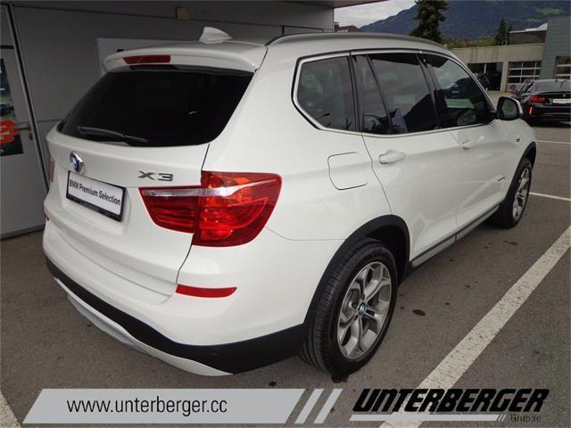 verkauft bmw x3 xdrive20d gebraucht 2017 0 km in. Black Bedroom Furniture Sets. Home Design Ideas