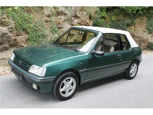 verkauft peugeot 205 roland garros cab., gebraucht 1991, 88.000 km
