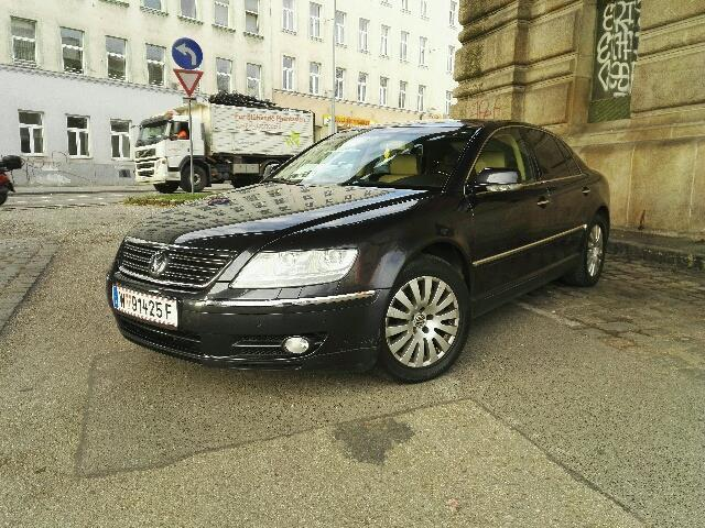 verkauft vw phaeton v6 tdi 4motion gebraucht 2005 km in wien. Black Bedroom Furniture Sets. Home Design Ideas