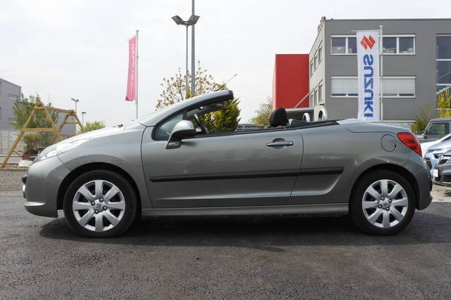 verkauft peugeot 207 cc active 1 6 hdi gebraucht 2007 km in wien. Black Bedroom Furniture Sets. Home Design Ideas