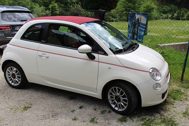 verkauft fiat 500c steyr puch 500 gebraucht 2010 km in liesing. Black Bedroom Furniture Sets. Home Design Ideas