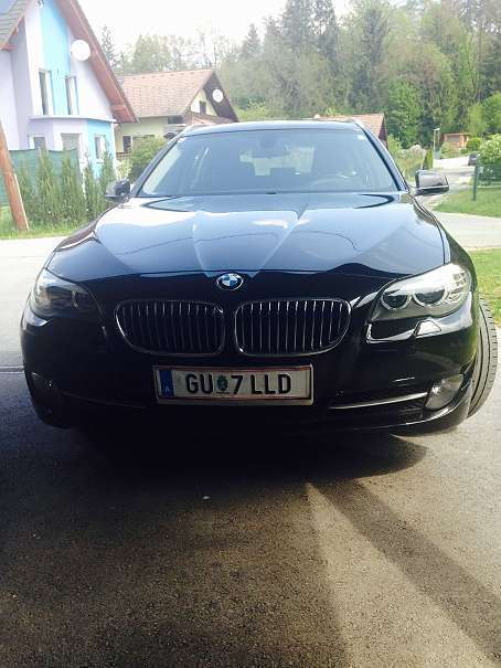 verkauft bmw 520 5er reihe d touring k gebraucht 2010 km in werndorf. Black Bedroom Furniture Sets. Home Design Ideas