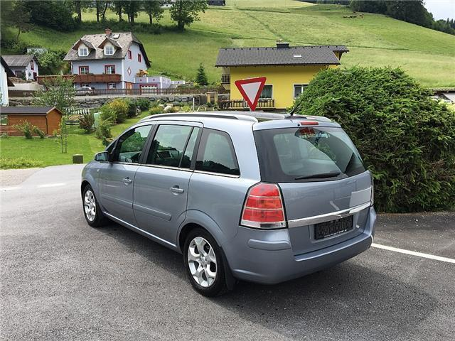 verkauft opel zafira cosmo 1 9 cdti p gebraucht 2006 km in falkenstein. Black Bedroom Furniture Sets. Home Design Ideas