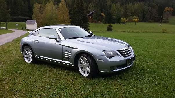 verkauft chrysler crossfire top zustan gebraucht 2004 km in radstadt. Black Bedroom Furniture Sets. Home Design Ideas