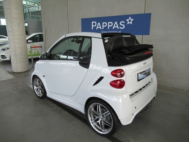 verkauft smart fortwo cabrio brabus xc gebraucht 2014. Black Bedroom Furniture Sets. Home Design Ideas