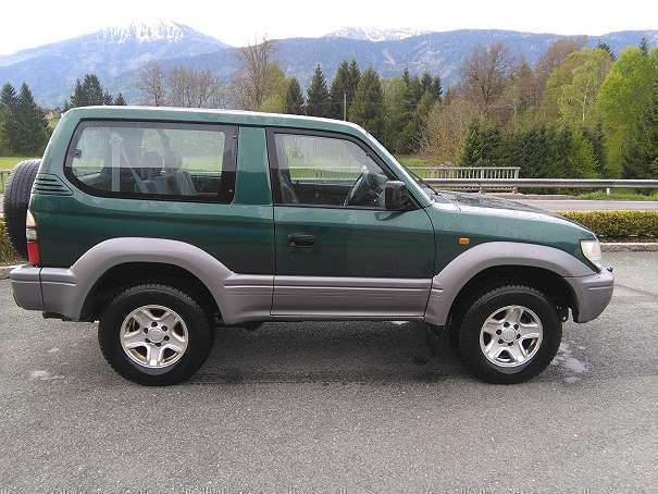 verkauft toyota land cruiser j9 suv gebraucht 1996 km in bach. Black Bedroom Furniture Sets. Home Design Ideas