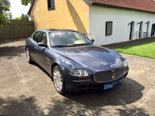 verkauft maserati quattroporte 4,2 lim., gebraucht 2004, 86.000 km