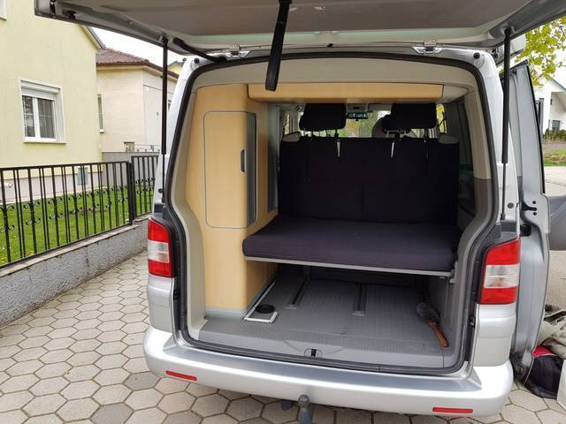 verkauft vw california t5 gebraucht 2008 km in wien. Black Bedroom Furniture Sets. Home Design Ideas