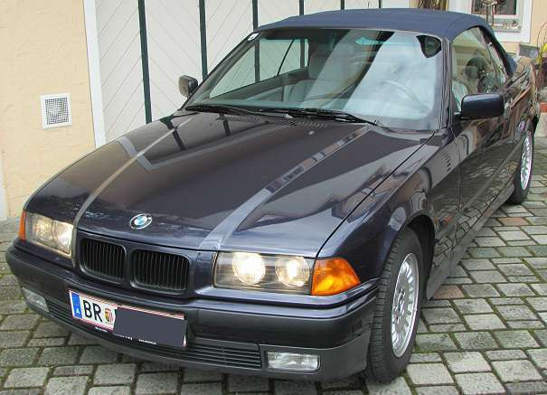 verkauft bmw 320 cabriolet 3er reihe i gebraucht 1994. Black Bedroom Furniture Sets. Home Design Ideas