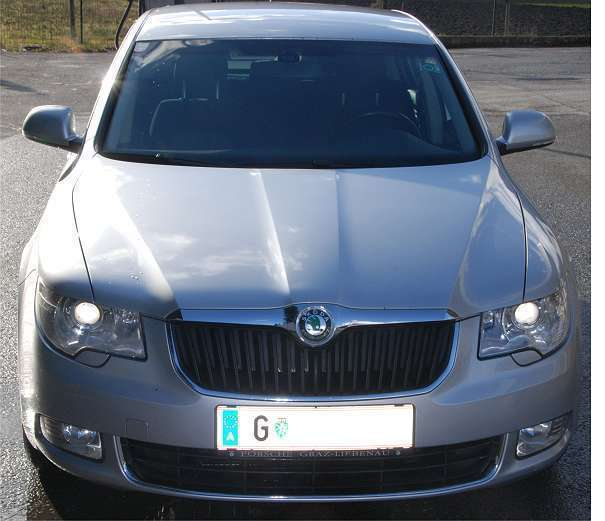 verkauft skoda superb ambition limousi gebraucht 2009 km in graz. Black Bedroom Furniture Sets. Home Design Ideas