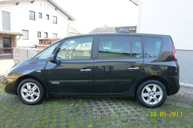 verkauft renault espace sport edition gebraucht 2007. Black Bedroom Furniture Sets. Home Design Ideas