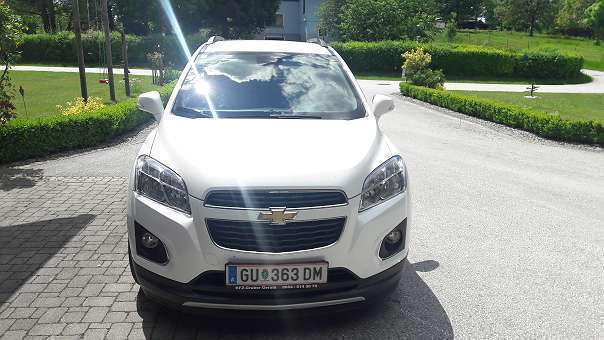 verkauft chevrolet trax 1 7 lt suv gebraucht 2013 km in kumberg. Black Bedroom Furniture Sets. Home Design Ideas