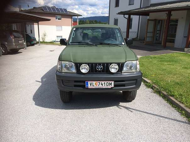 verkauft toyota land cruiser j9 suv gebraucht 2000 km in schiefling. Black Bedroom Furniture Sets. Home Design Ideas
