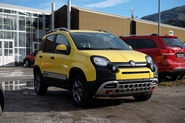 verkauft fiat panda cross 4x4 1 3 mult gebraucht 2015 km in wien. Black Bedroom Furniture Sets. Home Design Ideas