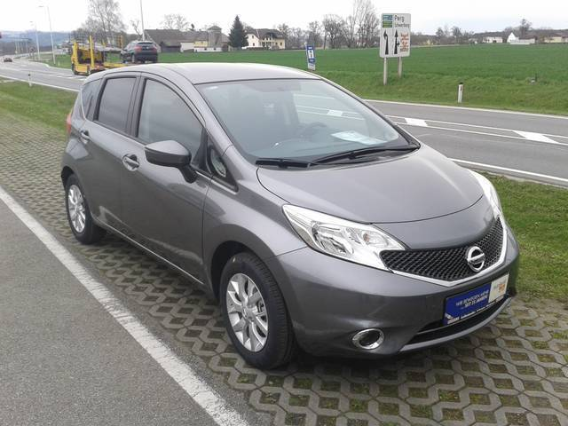 verkauft nissan note 1 2 acenta gebraucht 2016 5 km in. Black Bedroom Furniture Sets. Home Design Ideas