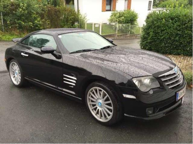 verkauft chrysler crossfire srt 6 3 2 gebraucht 2006 km in graz. Black Bedroom Furniture Sets. Home Design Ideas