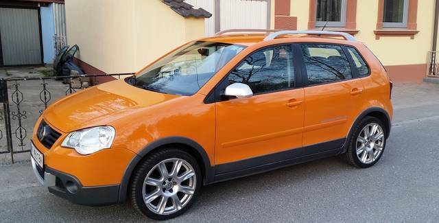 verkauft vw polo cross 1 4 tdi gebraucht 2006 km. Black Bedroom Furniture Sets. Home Design Ideas