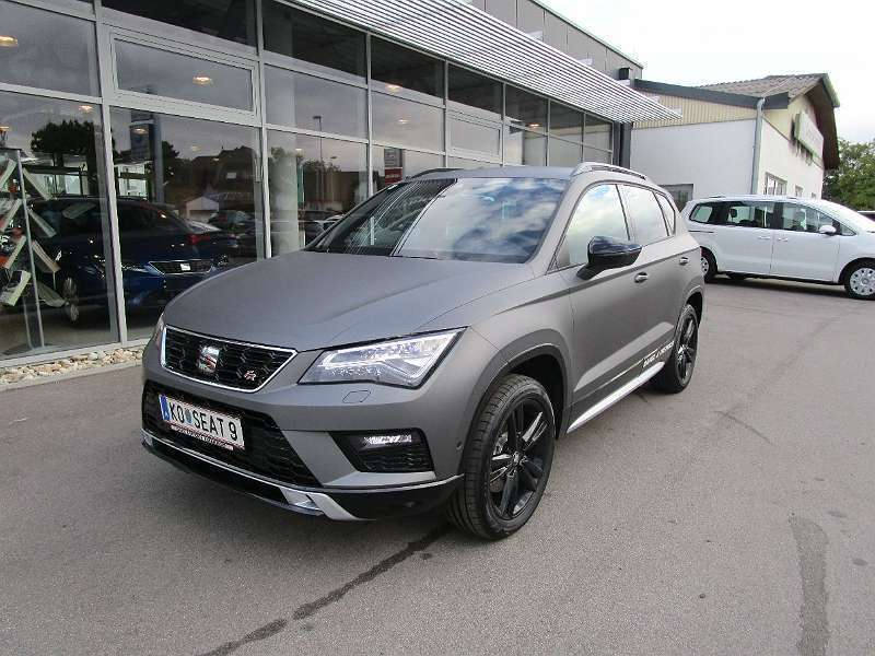verkauft seat ateca 1 4 fr stealth spe gebraucht 2018. Black Bedroom Furniture Sets. Home Design Ideas