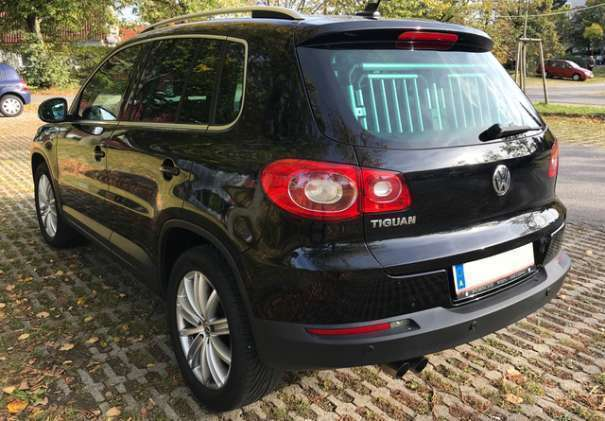 verkauft vw tiguan sport style tdi 4 gebraucht 2008. Black Bedroom Furniture Sets. Home Design Ideas