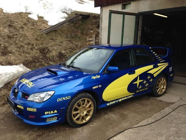 verkauft subaru impreza wrx sti 2 5 gebraucht 2006 km in maria luggau. Black Bedroom Furniture Sets. Home Design Ideas