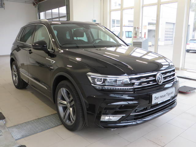verkauft vw tiguan der neuer line dsg gebraucht 2017 4 km in stockerau. Black Bedroom Furniture Sets. Home Design Ideas