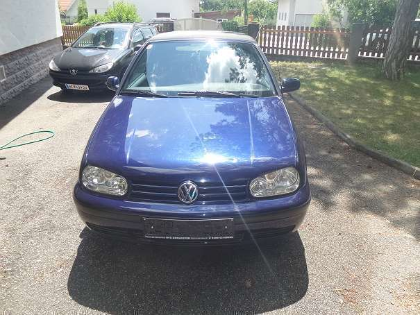 verkauft vw golf cabriolet golf 4 cabr gebraucht 1998 km in raglitz. Black Bedroom Furniture Sets. Home Design Ideas