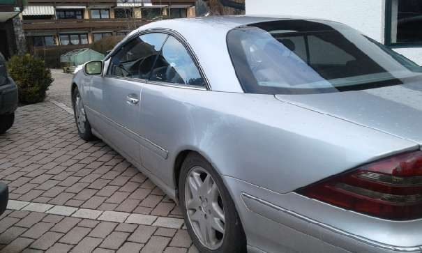 verkauft mercedes cl500 cl klasseamg p gebraucht 2000 km in zell am see. Black Bedroom Furniture Sets. Home Design Ideas