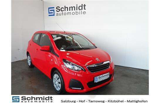 verkauft peugeot 108 1 0 vti 68 top a gebraucht 2015 km in salzburg. Black Bedroom Furniture Sets. Home Design Ideas