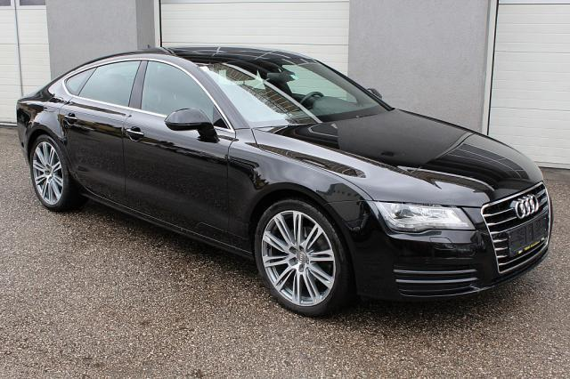 verkauft audi a7 sportback 3 0 tdi dpf gebraucht 2012 km in wels. Black Bedroom Furniture Sets. Home Design Ideas