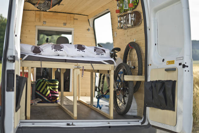ford transit connect umbau zum camper biberbox die. Black Bedroom Furniture Sets. Home Design Ideas