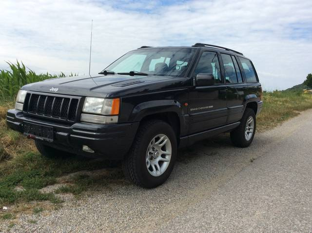 verkauft jeep grand cherokee zg limite gebraucht 1997 km in emmersdorf. Black Bedroom Furniture Sets. Home Design Ideas