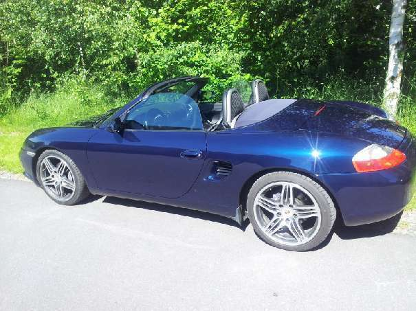 verkauft porsche boxster 2 5l cabrio gebraucht 1999 km in gro gerungs. Black Bedroom Furniture Sets. Home Design Ideas