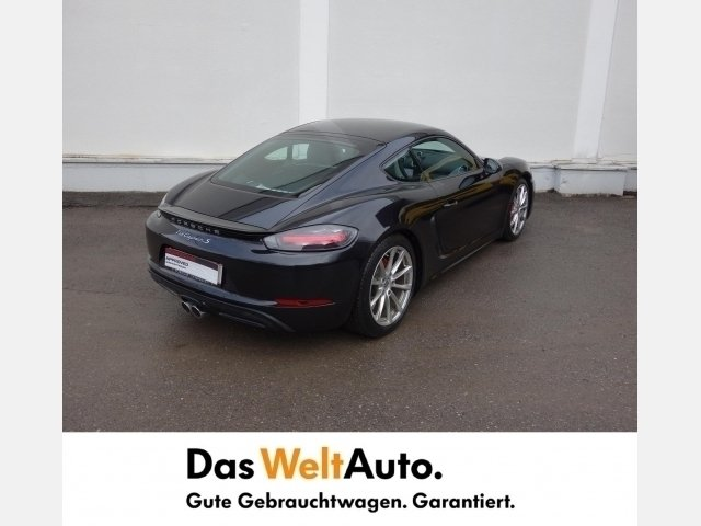 verkauft porsche 718 cayman s gebraucht 2017 12 km in dornbirn. Black Bedroom Furniture Sets. Home Design Ideas