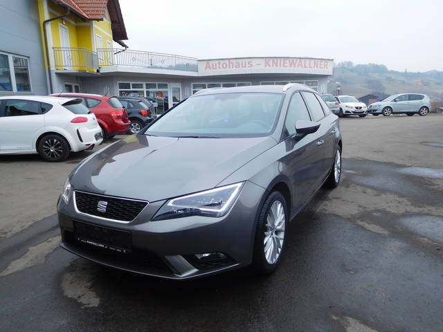 verkauft seat leon st style 1 6 tdi cr gebraucht 2015. Black Bedroom Furniture Sets. Home Design Ideas