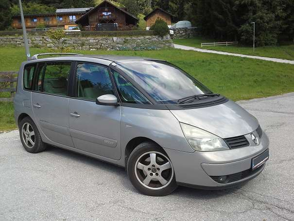 verkauft renault espace authentique 1 gebraucht 2002 km in innsbruck. Black Bedroom Furniture Sets. Home Design Ideas